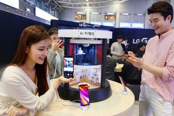 Названа цена передового смартфона LG G7 ThiQ в России