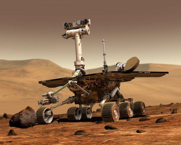 В России создали макет десантного модуля для полета на Марс