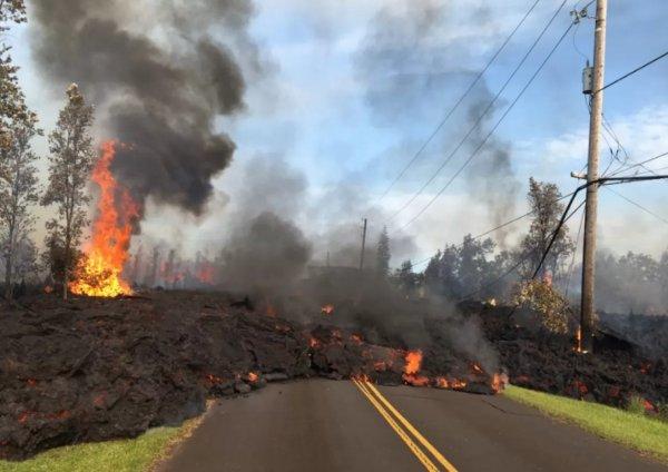 Стали известны первые жертвы от извержения вулкана на Гавайях