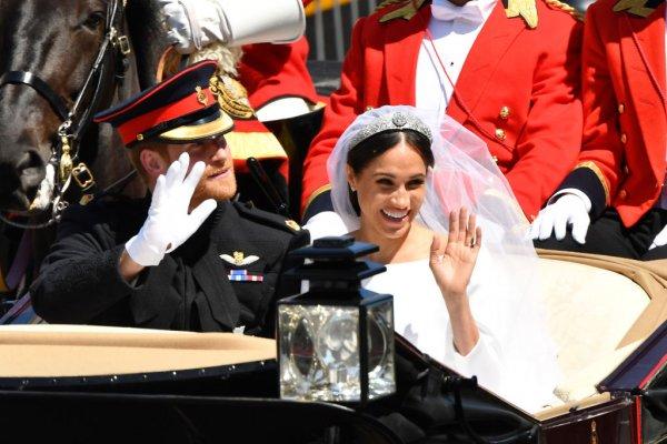 Белая лошадь испортила идеальную свадьбу принца Гарри и Меган Маркл
