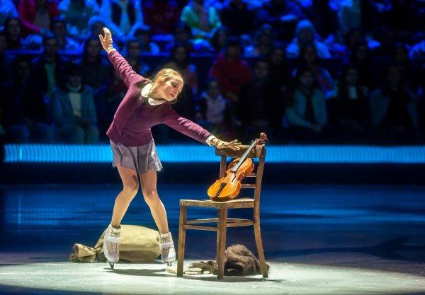 Юная фигуристка из Ростова завоевала серебро на шоу «Ледниковый период. Дети»