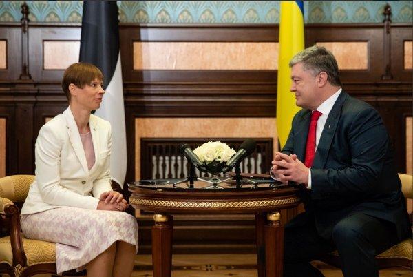 Семченко: Президент Эстонии жестко оконфузилась на встрече с Порошенко в Киеве