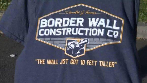 Школьника выгнали с урока за футболку с надписью в поддержку Трампа