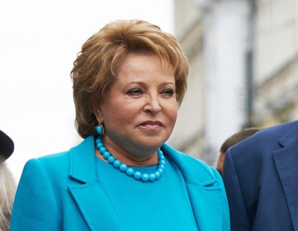 Матвиенко назвала «неумным» запрет чиновникам отдыхать в «санкционных» странах