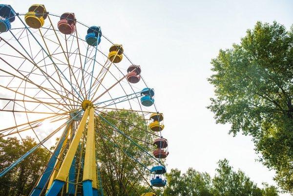 В Ярославле запустили огромное колесо обозрения