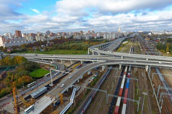 Собянин: Протяженность Юго-Восточной хорды в Москве составит около 40 км