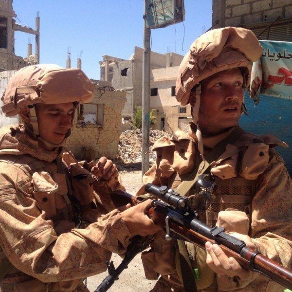 Генерал Шаманов рассказал о бое в Сирии, где погибли российские военные