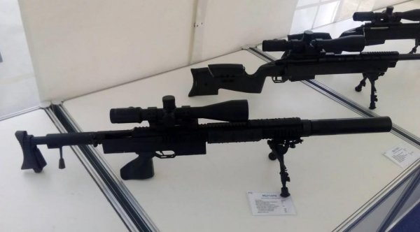 На выставке «Армия-2018» покажут уникальную бесшумную винтовку