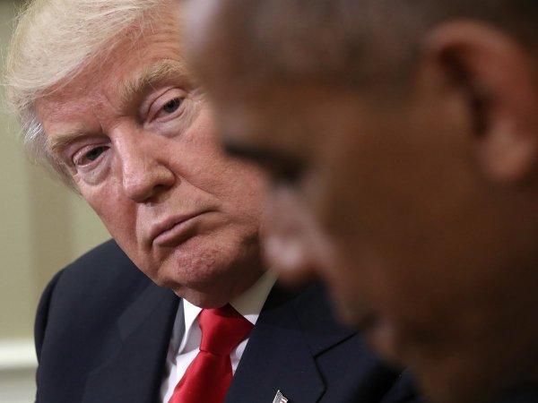 Трамп раскритиковал Обаму за не противодействие «российскому вмешательству»