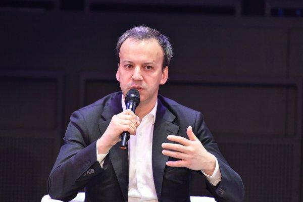 Сопредседатель Совета Фонда «Сколково» Аркадий Дворкович встретился со СМИ