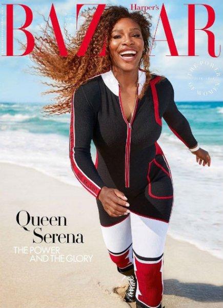 Серена Уильямс стала лицом Harper's Bazaar