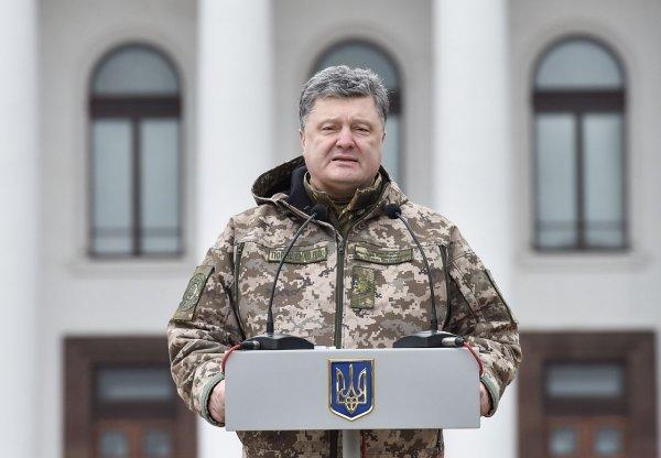 Порошенко не принял вариант силового решения конфликта на Донбассе