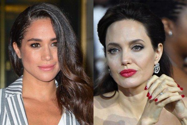 Не приглашенная на свадьбу Анджелина Джоли намерена познакомиться с Меган Маркл