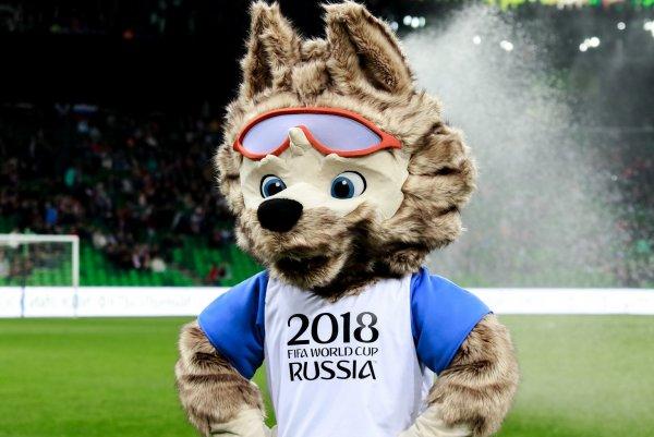 Украинцы поиздевались над символом ЧМ-2018