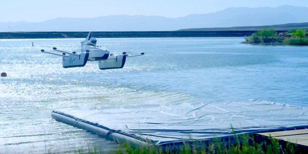 Стартап Kitty Hawk представил новый вид персонального летательного аппарата