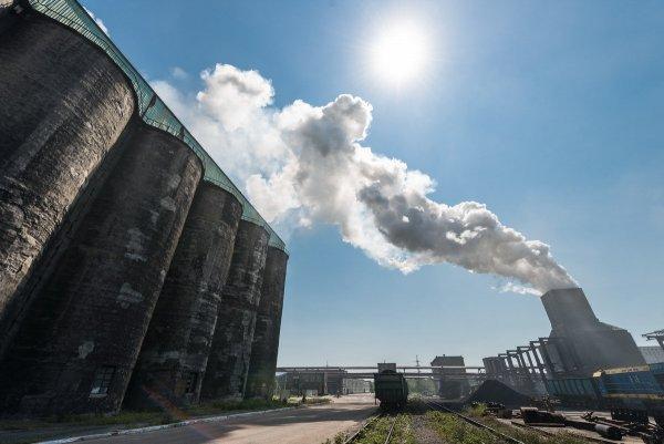 В Донбассе было повреждено хранилище с 270 тоннами химотходов