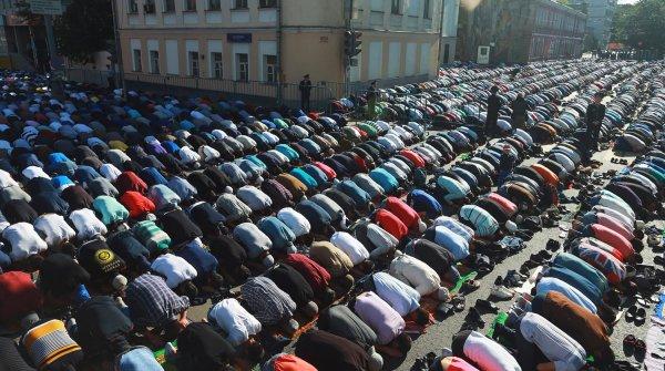 В Москве 15 июня будет ограничено движение из-за празднования Ураза-байрама