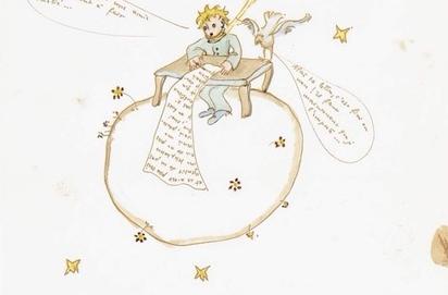 Рисунок из письма автора «Маленького принца» продали за 240 тыс. евро