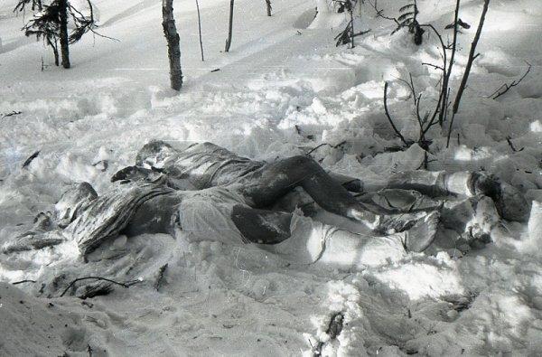 Пришелец уничтожил группу Дятлова