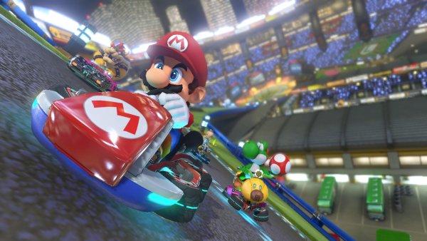 Nintendo Labo начал поддерживать Mario Kart