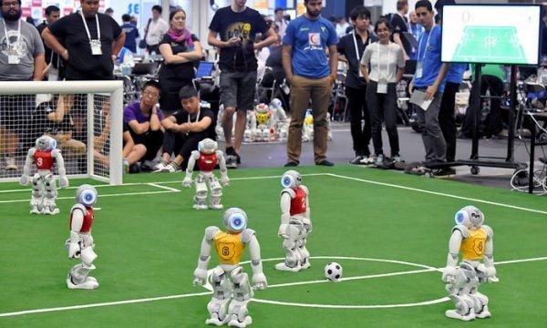Прошёл 22-й международный чемпионат по робофутболу Robocup