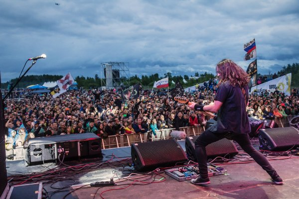 В новгородской Окуловке в выходные прошел крупный рок-фестиваль «КИНОпробы»