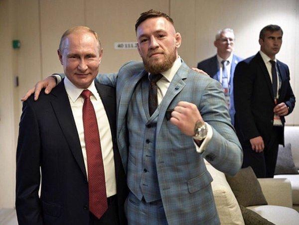 Нурмагомедов отреагировал на поступок Макгрегора публикацией фото с двойником Путина