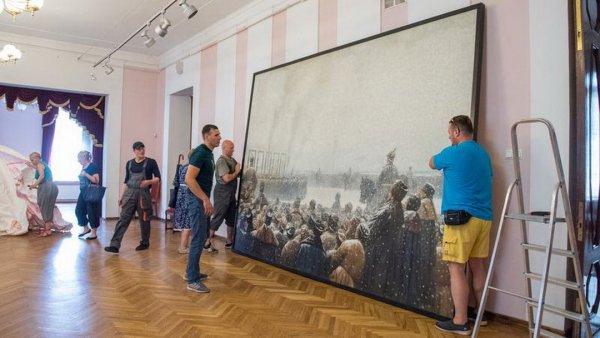 В Петербург вернулась картина «Казнь заговорщиков в России»