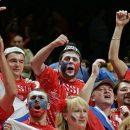 Болельщики в Сочи распевают песни и едят шашлык перед матчем России и Хорватии