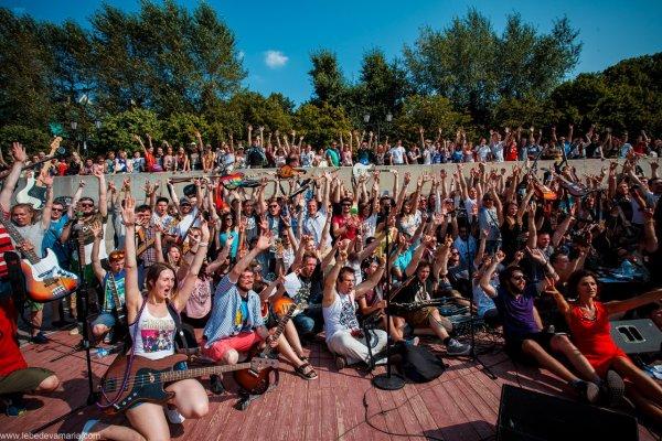 В Ярославле на рок-флешмобе выступят больше 100 музыкантов
