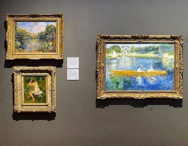 В Вене прямо перед стартом торгов на аукционе украли картину Ренуара за 160 тысяч евро