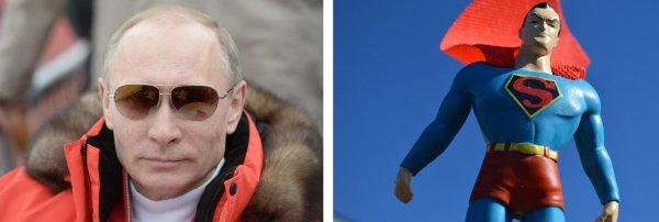 В комиксах DC Путин поссорился с Суперменом