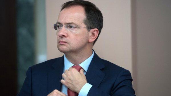 Мединский предложил Путину снять фильм о Нюрнбергском процессе