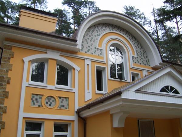 Разнообразные декоративные элементы фасада для вас
