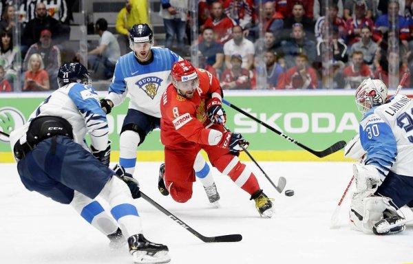 «Наотмечались?». В ЧМ-2019 по хоккею Россия могла проиграть Финляндии из-за выпитого алкоголя