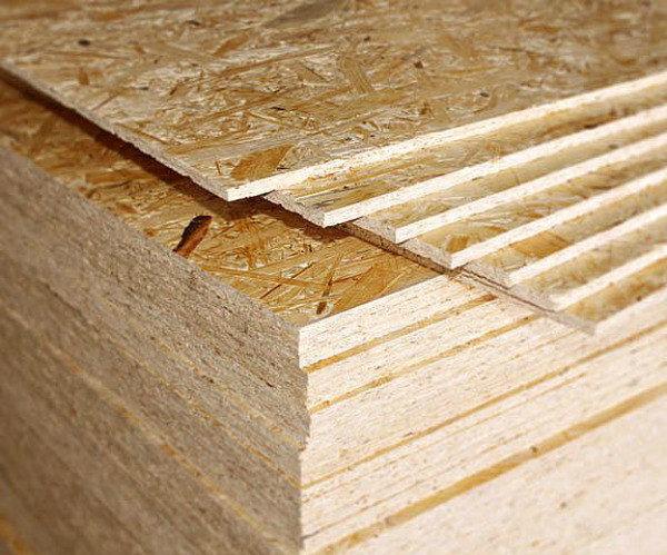 Плиты OSB и другой строительный материал