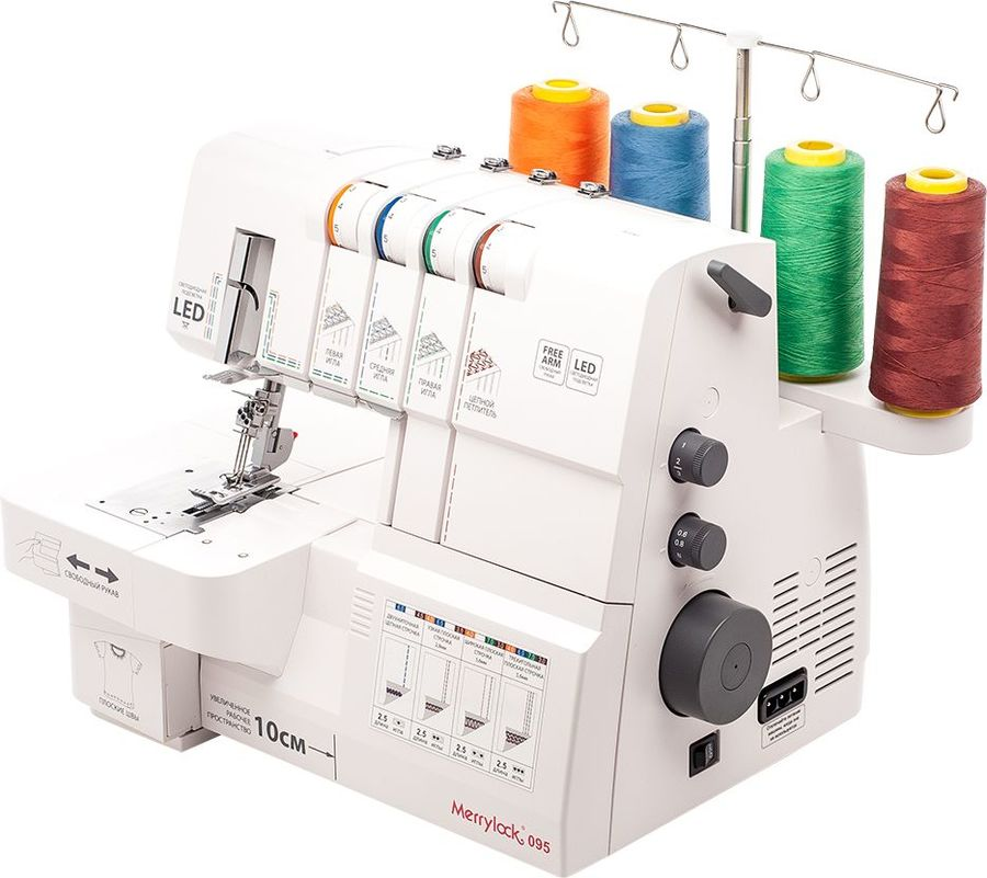 Популярные производители швейного оборудования в интернет-магазине softorg.com.ua