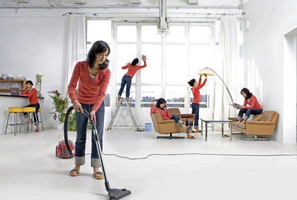 Уборка помещения от профессионалов