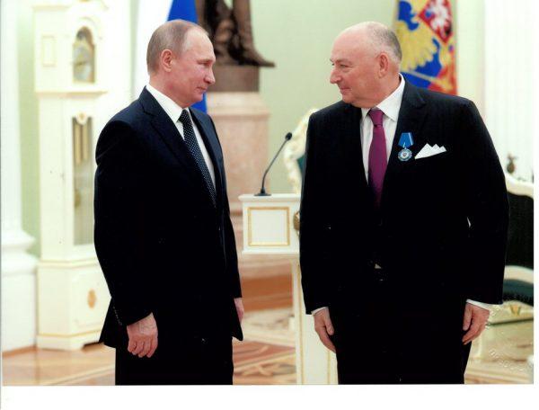 Вячеслав Моше Кантор: Владимир Путин ставит борьбу с терроризмом в приоритет многих международных отношений