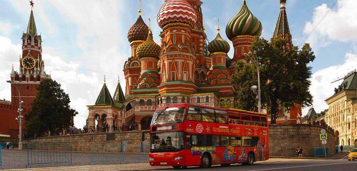 Автобусные экскурсии по Москве
