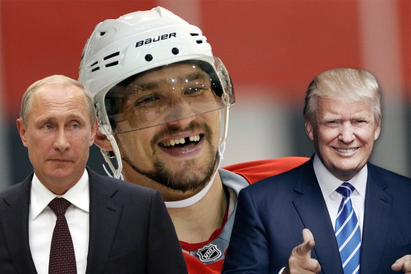 Из NHL в НХЛ: Овечкин и Трамп не против товарищеского матча с Путиным