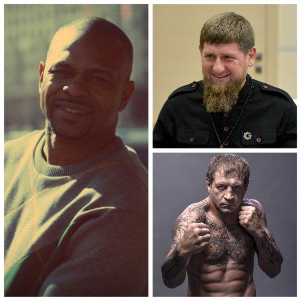 Кадыров «закрыл рот» Рою Джонсу, бросив вызов Емельяненко