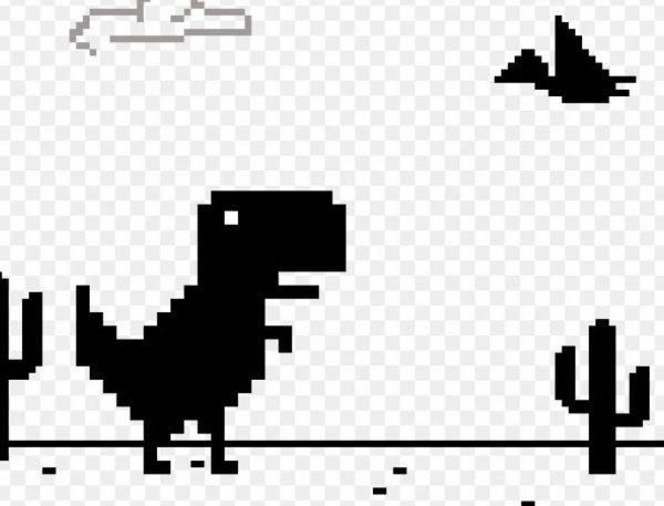 Игра динозаврик для всей семьи