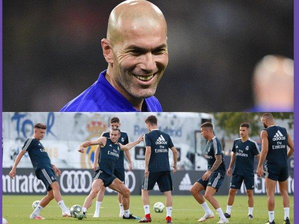Изнурительные тренировки Зидана помешают «Реалу» в матче с «Валенсией»