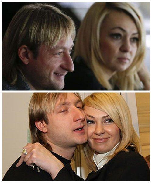 Утешила мужа: Плющенко показал Рудковской свой «петрюндель»