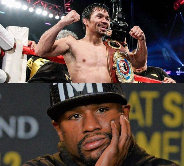 Мейвезер «очкует»: Флойд прячется от Пакьяо за спинами бойцов MMA