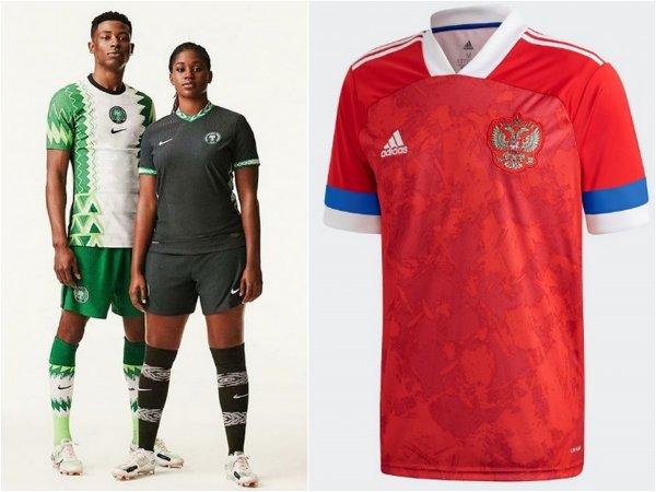 «Хочу такую же»: Новая форма Нигерии провоцирует «скандал» с участием сборной России