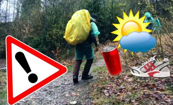3 детские ошибки туриста, способные превратить поход в кошмар наяву