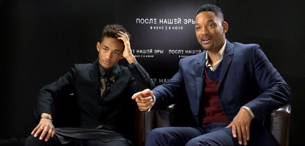 Сын Уилла Смита составил компанию отцу в съемках фильма