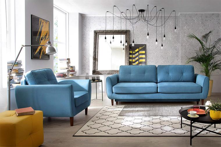 Широкий ассортимент диванов в скандинавском стиле